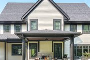 Craftsman Style House Plan - 3 Beds 2.5 Baths 4189 Sq/Ft Plan #928-312 Exterior - Rear Elevation