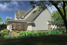 Architectural House Design - Farmhouse Exterior - Other Elevation Plan #120-189