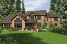 Craftsman Exterior - Rear Elevation Plan #48-647