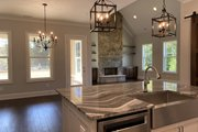 Craftsman Style House Plan - 3 Beds 2.5 Baths 2136 Sq/Ft Plan #437-113 Interior - Dining Room