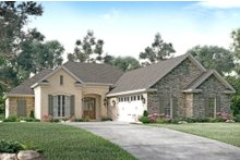 Home Plan - European Exterior - Front Elevation Plan #430-123