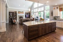 Craftsman style home, contemporary kitchen photo