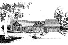 Architectural House Design - Country Exterior - Front Elevation Plan #942-29