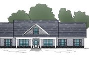 Traditional Style House Plan - 3 Beds 2 Baths 3259 Sq/Ft Plan #123-108 Exterior - Front Elevation