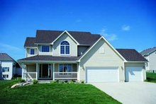 Traditional Exterior - Front Elevation Plan #20-800