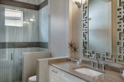 Mediterranean Style House Plan - 3 Beds 3 Baths 3648 Sq/Ft Plan #930-449 Interior - Bathroom