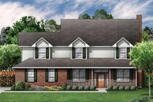 Home Plan - Country Exterior - Front Elevation Plan #84-699