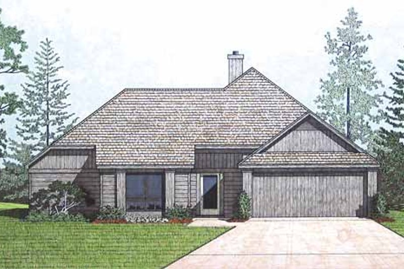 Traditional Exterior - Front Elevation Plan #45-414