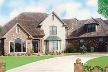 House Plan Design - Traditional Exterior - Front Elevation Plan #52-239