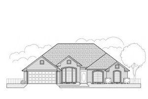 Traditional Exterior - Front Elevation Plan #65-123