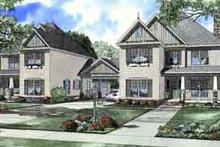 House Plan Design - Tudor Exterior - Front Elevation Plan #17-2158