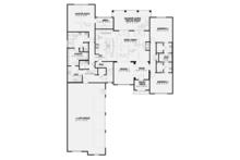 Country Floor Plan - Main Floor Plan Plan #17-3378
