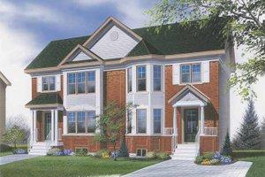 Home Plan Design - European Exterior - Front Elevation Plan #23-2363