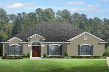 House Plan Design - European Exterior - Front Elevation Plan #1058-133