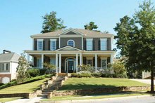 Home Plan - Classical Exterior - Front Elevation Plan #429-263