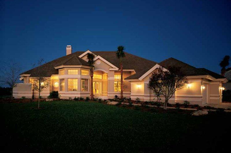 Dream House Plan - Mediterranean Exterior - Front Elevation Plan #930-38