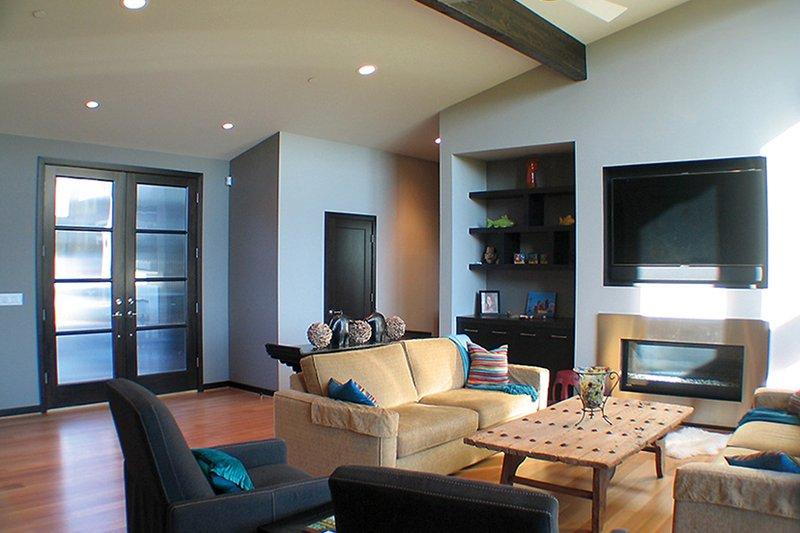 Contemporary Interior - Family Room Plan #132-563 - Houseplans.com