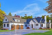 Modern Style House Plan - 4 Beds 4.5 Baths 3794 Sq/Ft Plan #437-108 Exterior - Other Elevation