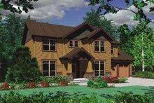 Craftsman Exterior - Front Elevation Plan #48-162