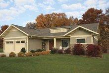 Dream House Plan - Craftsman Exterior - Front Elevation Plan #928-80