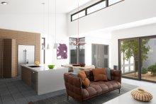 House Plan Design - Contemporary Interior - Family Room Plan #80-220