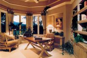 Mediterranean Style House Plan - 3 Beds 4 Baths 4009 Sq/Ft Plan #930-110 Interior - Family Room