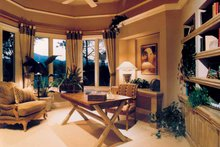 Mediterranean Interior - Family Room Plan #930-110