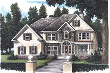 House Design - European Exterior - Front Elevation Plan #927-138