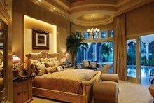 House Design - Mediterranean Interior - Master Bedroom Plan #930-327