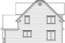 Victorian Exterior - Rear Elevation Plan #23-2178