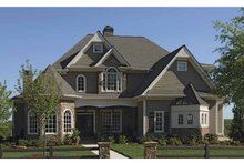 Architectural House Design - European Exterior - Front Elevation Plan #54-291