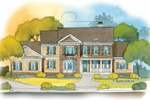 Home Plan - Country Exterior - Front Elevation Plan #429-392