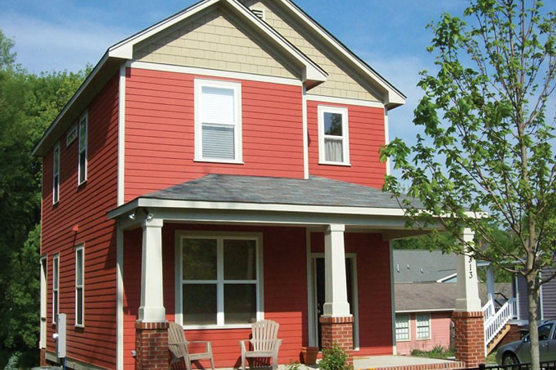 Traditional Exterior - Front Elevation Plan #936-28 - Houseplans.com