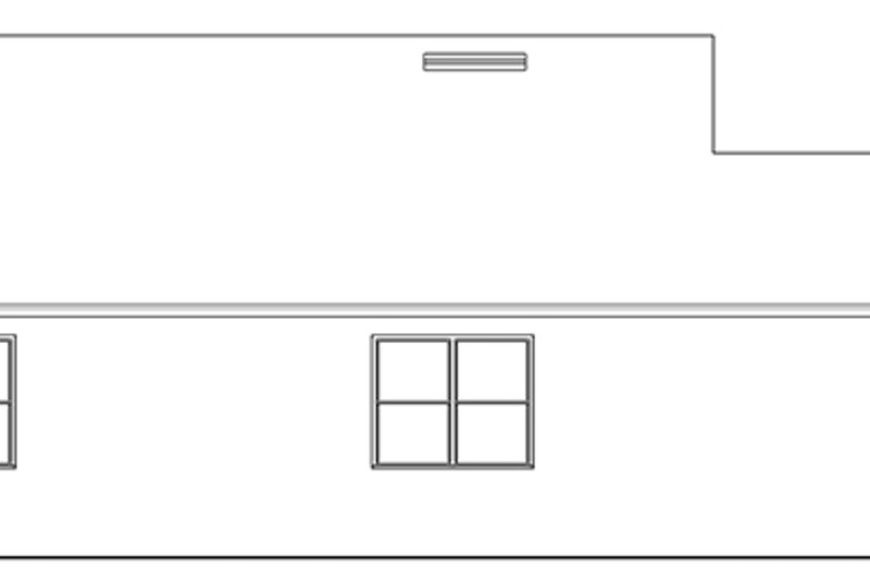 Ranch Exterior - Other Elevation Plan #1058-107 - Houseplans.com
