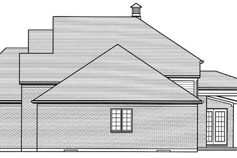 Traditional Exterior - Other Elevation Plan #46-863 - Houseplans.com