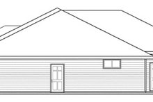 Dream House Plan - Ranch Exterior - Other Elevation Plan #124-856