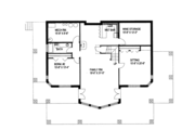 Ranch Style House Plan - 2 Beds 3 Baths 3871 Sq/Ft Plan #117-840 Floor Plan - Lower Floor