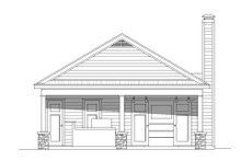 Country Exterior - Front Elevation Plan #932-236