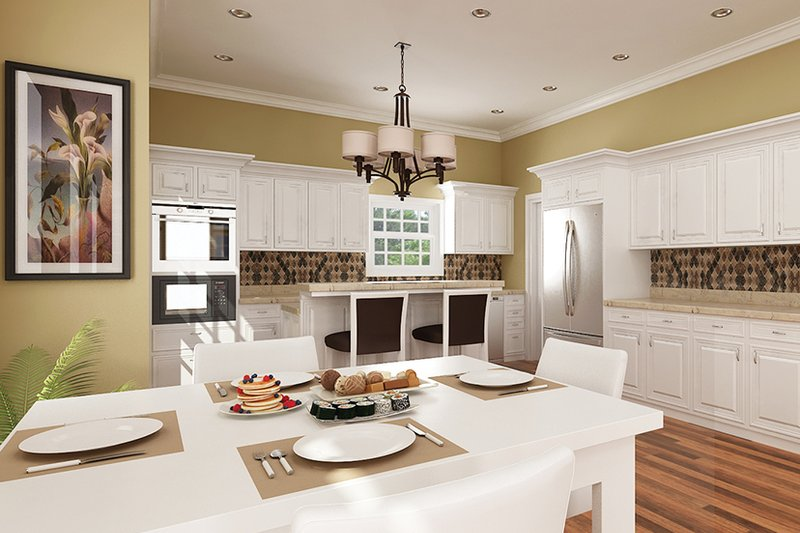Traditional Interior - Kitchen Plan #45-569 - Houseplans.com