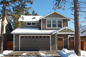 Craftsman Exterior - Front Elevation Plan #895-80