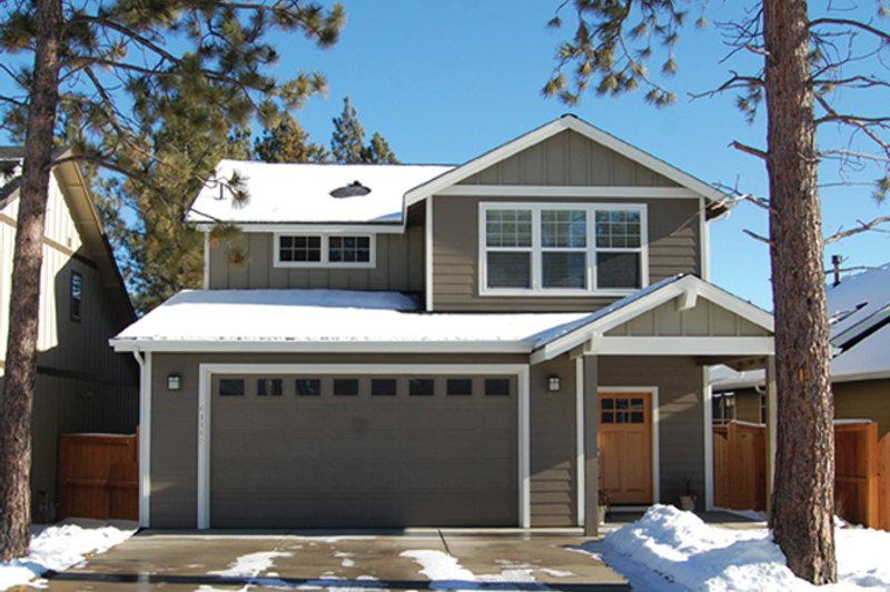 House Plan Design - Craftsman Exterior - Front Elevation Plan #895-80
