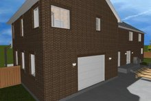 Traditional Exterior - Rear Elevation Plan #1060-18