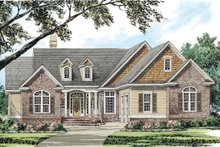 Architectural House Design - Traditional Exterior - Front Elevation Plan #929-40