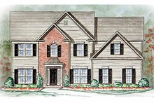 Home Plan - Country Exterior - Front Elevation Plan #54-246