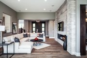 Contemporary Style House Plan - 4 Beds 3.5 Baths 4983 Sq/Ft Plan #928-287 Interior - Family Room