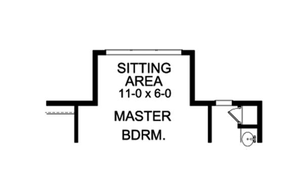 Ranch Floor Plan - Other Floor Plan Plan #1010-189
