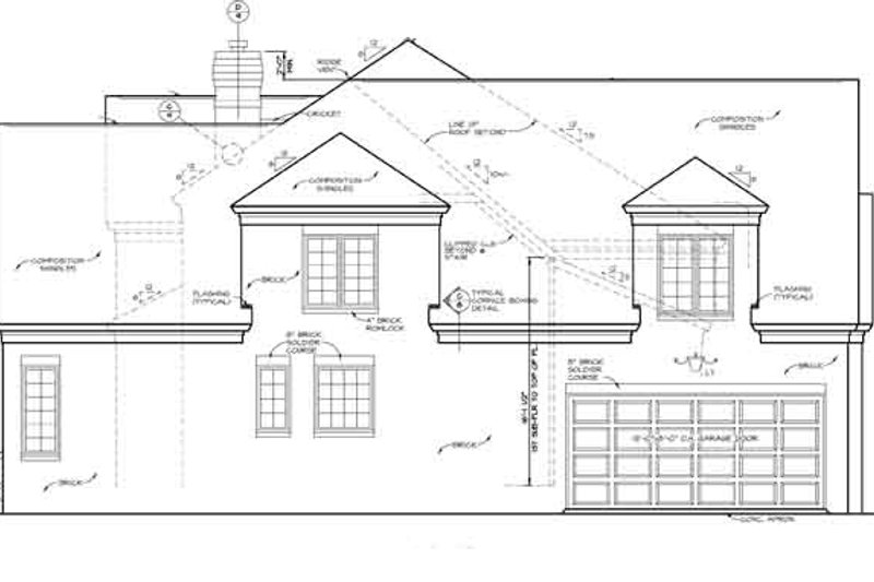 Country Exterior - Other Elevation Plan #453-276 - Houseplans.com