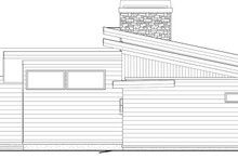 Modern Exterior - Rear Elevation Plan #895-60
