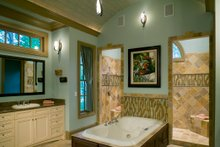Farmhouse Interior - Master Bathroom Plan #54-390