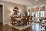European Style House Plan - 3 Beds 2 Baths 2024 Sq/Ft Plan #430-168 Interior - Dining Room